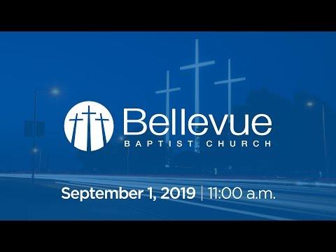 September 1, 2019 | 11:00 AM | Bellevue Baptist Church