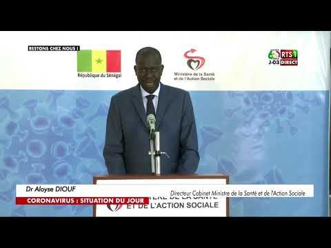 Communique de presse Ministère de la Santé du Mercredi 1 Avril 2020
