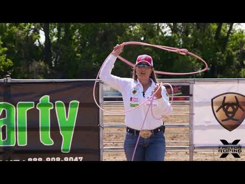 Breakaway Roping Elbow Position with Jackie Crawford
