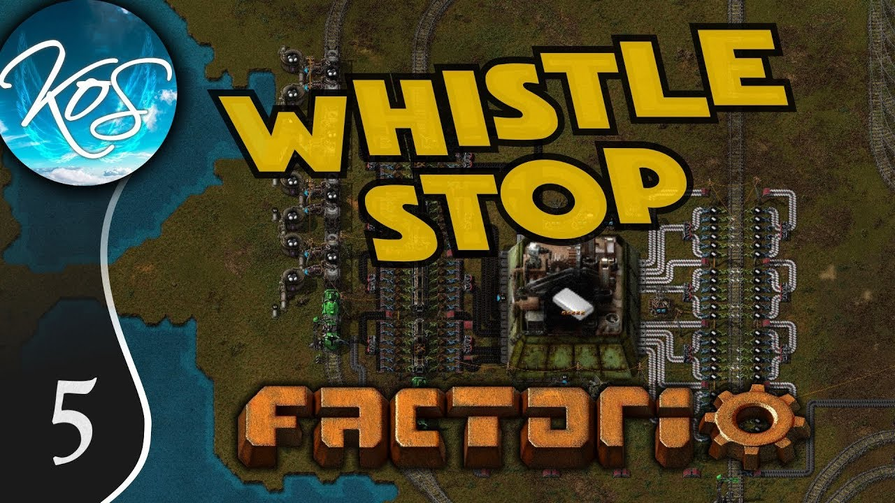 Whistle Stop Factorio Ep 5: MALL CONSTRUCTION - Mod Spotlight, Let's Play,  Gameplay