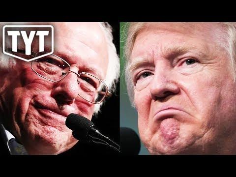Bernie Slaps Trump With Socialism