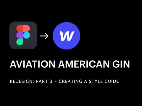 Part 3: Creating a Webflow style guide