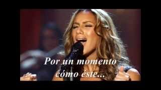 Leona Lewis - A moment like this - sub español