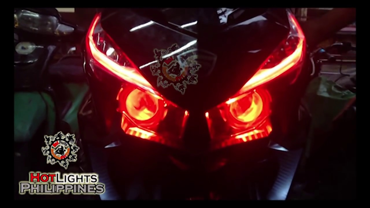 Angel eyes headlight for mio sporty-1257