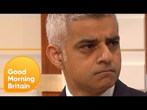 Sadiq Khan on How Police Cuts Harm Anti-Terrorism Efforts | Good Morning Britain