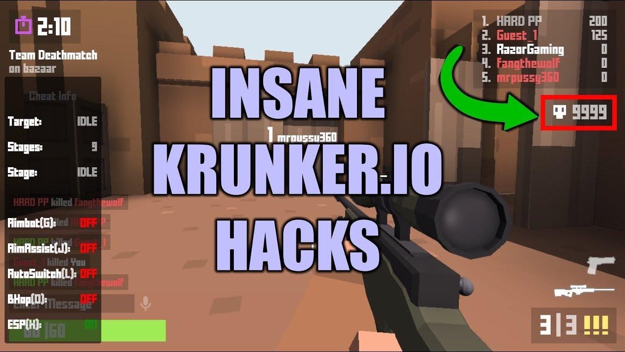 HOW TO INSTALL THESE INSANE KRUNKER IO HACKS!