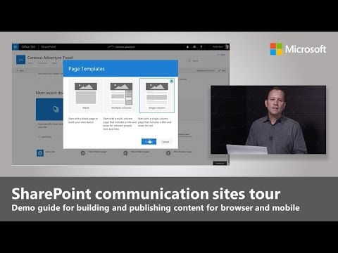 An Overview Of SharePoint Communication Sites
