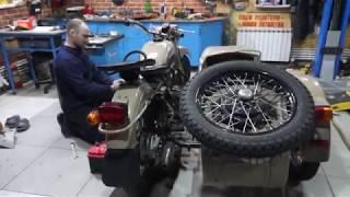 Новый мотоцикл Урал 1993г.в.  25 лет простоя.