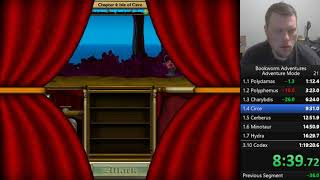 Bookworm Adventures Deluxe (PC) Adventure Mode speedrun in 1:14:08