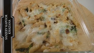 Broccoli Mushroom And Penne Bake