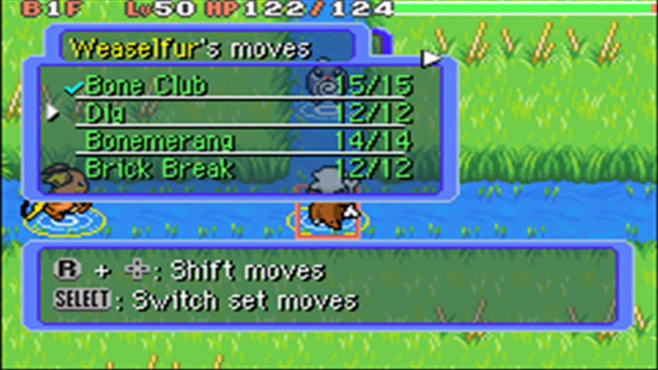 Pokemon Mystery Dungeon - Good Training Spot