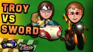 Download Mario Kart Wii Vehicle War: Spear vs Sneakster (150cc) ft. SwordofSeals Mp3 and Videos