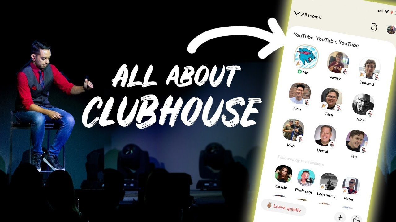 All About Clubhouse (For Beginners) How to Get Started, Join Rooms & Get Followers - Day 302