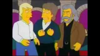 """The  Moody Blues on """"The Simpsons"""",  01.10.1999"""