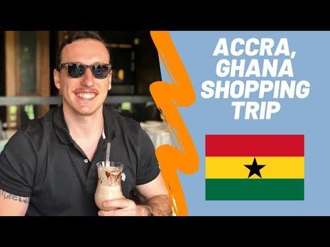 🇬🇭 GHANA VLOG, Shopping in Accra, Ghana-Ep 6