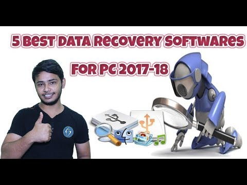 5 Best Data Recovery Software For PC 2017-2018 | Best Recovery Softwares For Windows And Mac