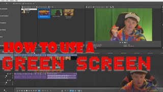 HOW TO USE A GREENSCREEN IN VEGAS MOVIE STUDIO PLATINUM 15.0