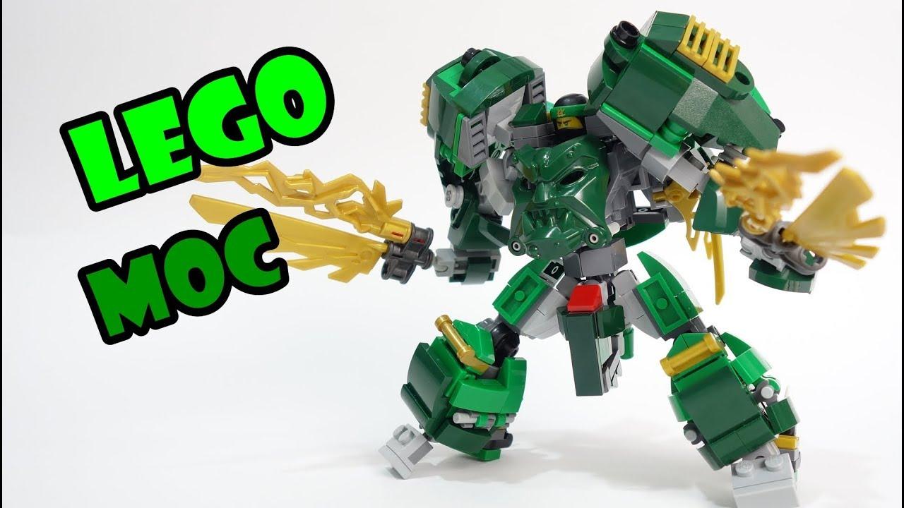 Lego Ninjago Lloyd's Dragon Mech Suit - YouTube