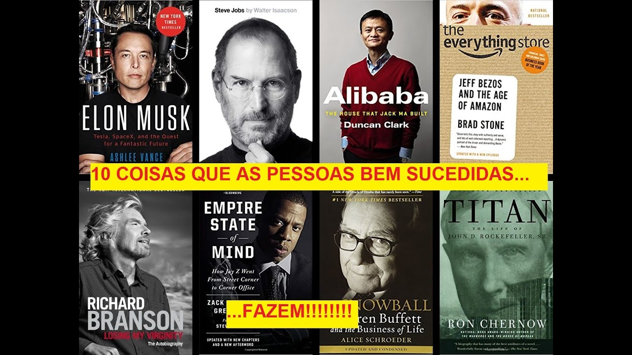 10 COISAS QUE OS RICOS E PODEROSOS FAZEM!!!! - YouTube