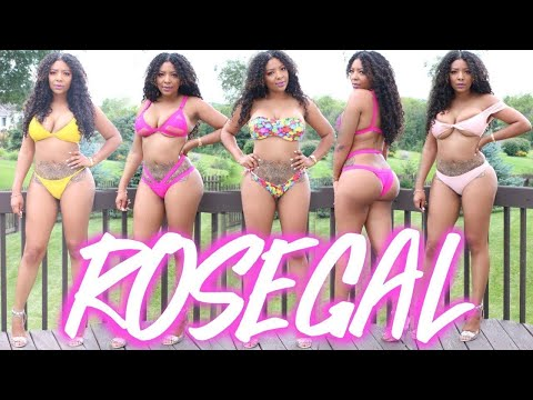 ROSEGAL CURVY SWIMSUIT TRY ON HAUL | END OF SUMMER 2017