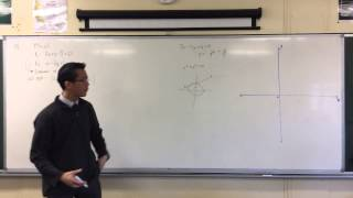 Applications of Perpendicular Distance (2 of 4: Interacting with Circles)