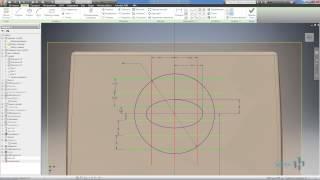 Создание упоров и решеток пластиковых деталей в Autodesk Inventor