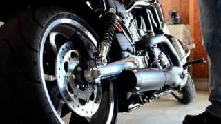 2012 v rod muscle with bassani exhaust