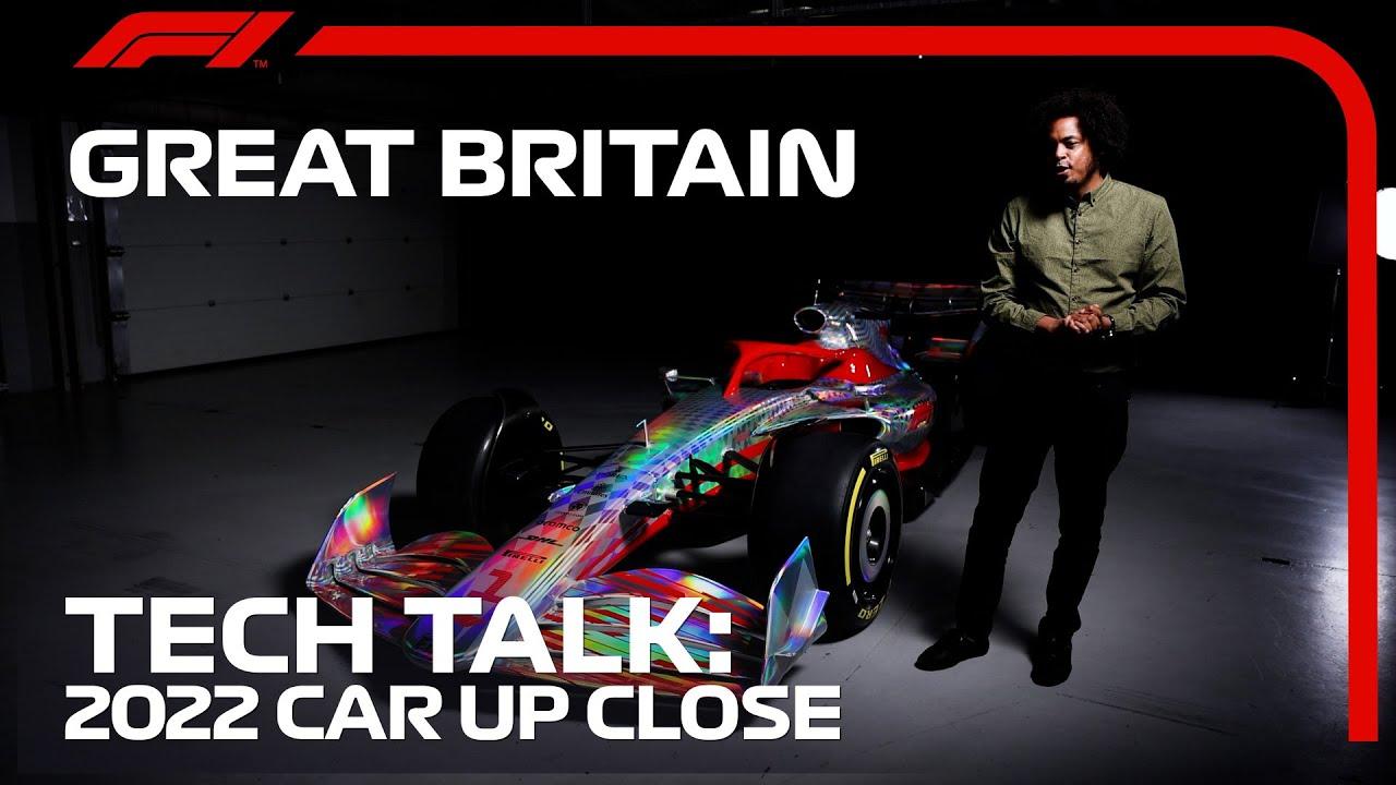 A Closer Look At The 2022 Car | F1 TV Tech Talk | 2021 British Grand Prix