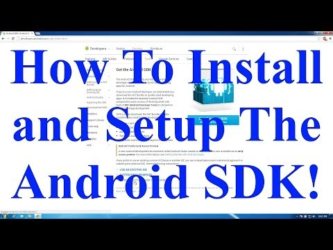 How To Install And Setup The Android SDK! (ADB, Fastboot, And Etc)