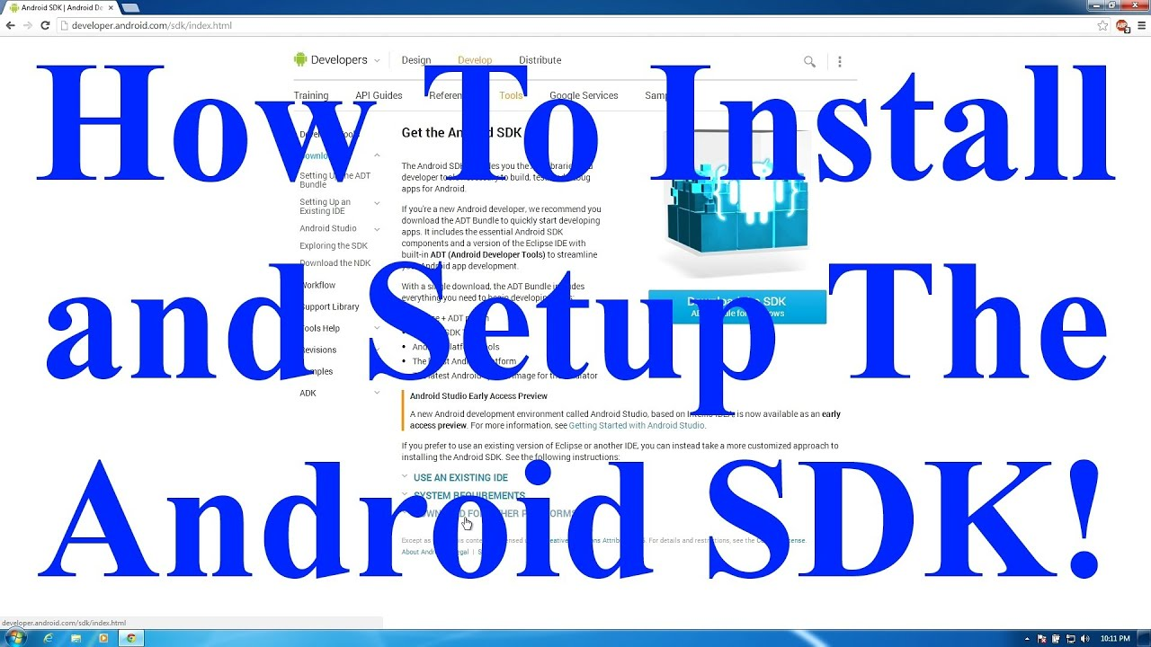 android-sdk-banner1 One of the best way to Install Android SDK / ADB on Windows