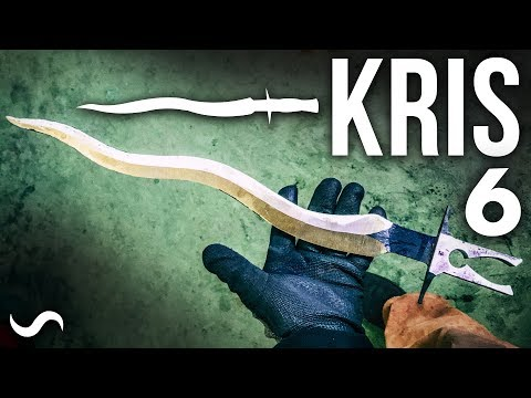 KRIS BLADE DAMASCUS DAGGER!!! Part 6