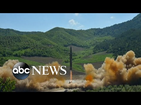 North Korea claims its 1st intercontinental ballistic missile test