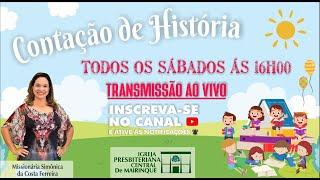 Contação de História | Jesus ama as crianças | 10/10/2020
