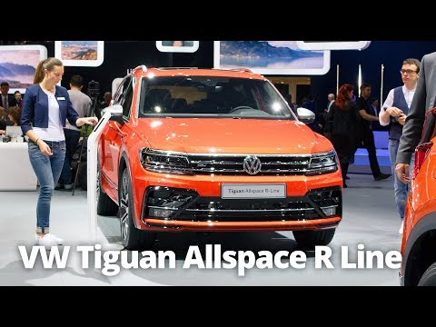 2018 VW Tiguan Allspace R Line 7 Seater Walkaround | Stable Lease