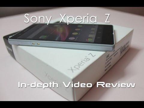 Sony Xperia Z In-depth Review - Geekyranjit