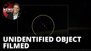Cosmonaut records mysterious lights — UFO?