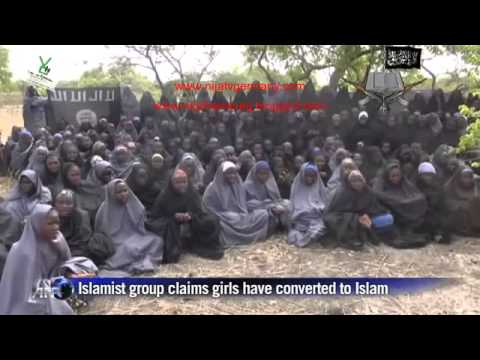 New Boko Haram video shows the abducted Nigerian schoolgirls ( #bringbackourgirls)