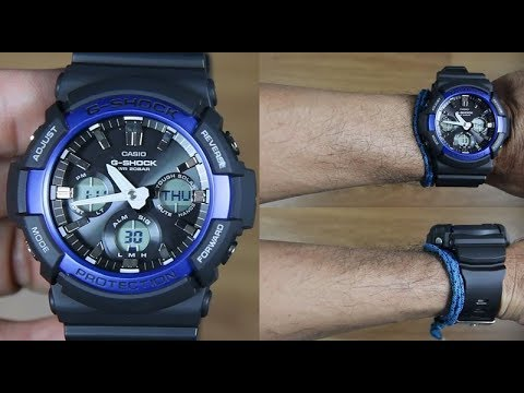 CASIO G-SHOCK GAS-100B-1A2 - UNBOXING