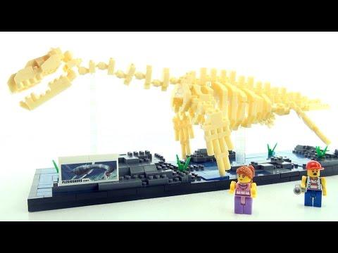 nanoblocks-plesiosaurus-dino-skeleton-exhibit---lego-style-dinosaur-bricks---dinosaurs-speed-build