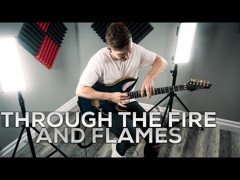 DragonForce  Through The Fire And Flames  Cole Rolland Guitar