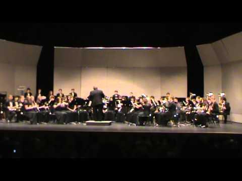 James F. Byrnes Symphonic Band Pre- Festival Concert 3-12-2013