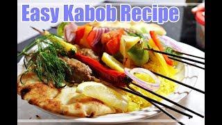 Easy Kabob Skewers recipe, tasty kabob skewers, homemade fresh, simple, and Amazing