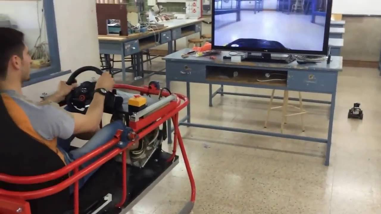 Rc car arcade fpv simulator arduino uno doovi