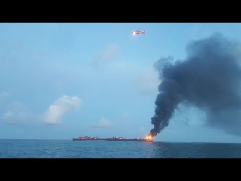 Offshore barge fire: what we know