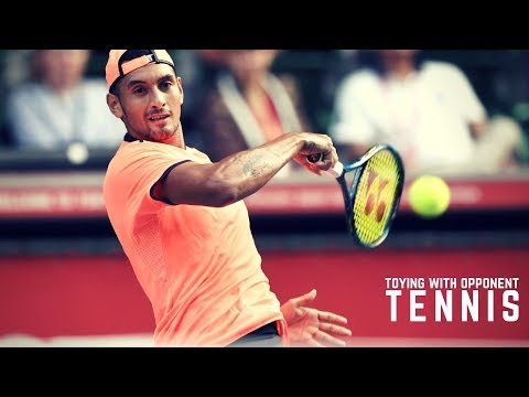 Tennis. Toying with Opponent #Top #Crazy Moments