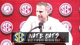 Nate Oats makes his debut at SEC Tipoff event