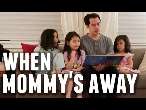 Daddy Duties When Mommy's Away- ItsJudysLife Vlog thumbnail