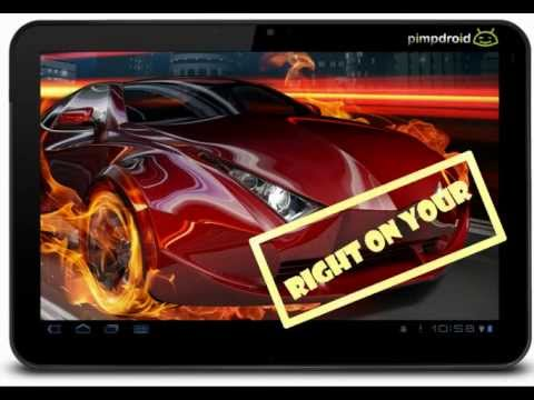 Hot Sports Cars Live Wallpaper For Android
