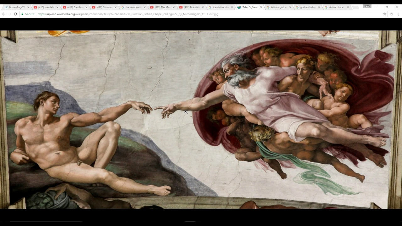 Mandela Effect God Reaches Over Now In Michelangelo S Sistine Chapel Painting Please Vote 145