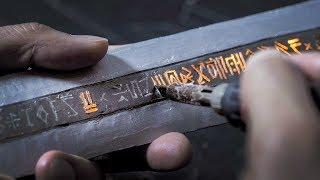 Making the Witcher Sword